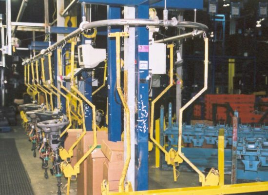 What is the reason for using overhead conveyors | Bridgeveyor