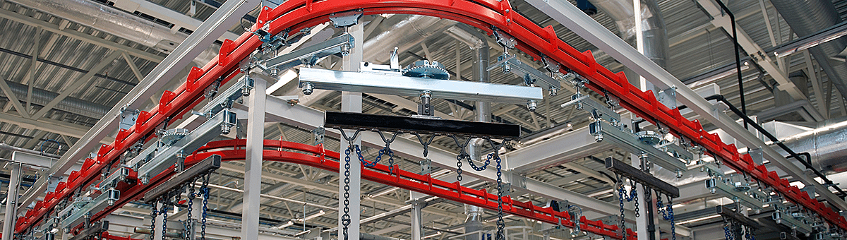 In the beginning of overhead conveyors | Bridgeveyor